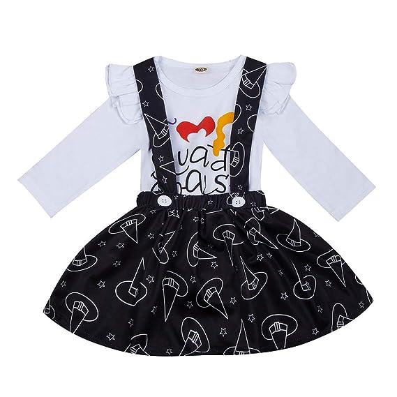 Clacce Pijama de Princesa Rock Outfit Set 2 Piezas Ropa recién ...