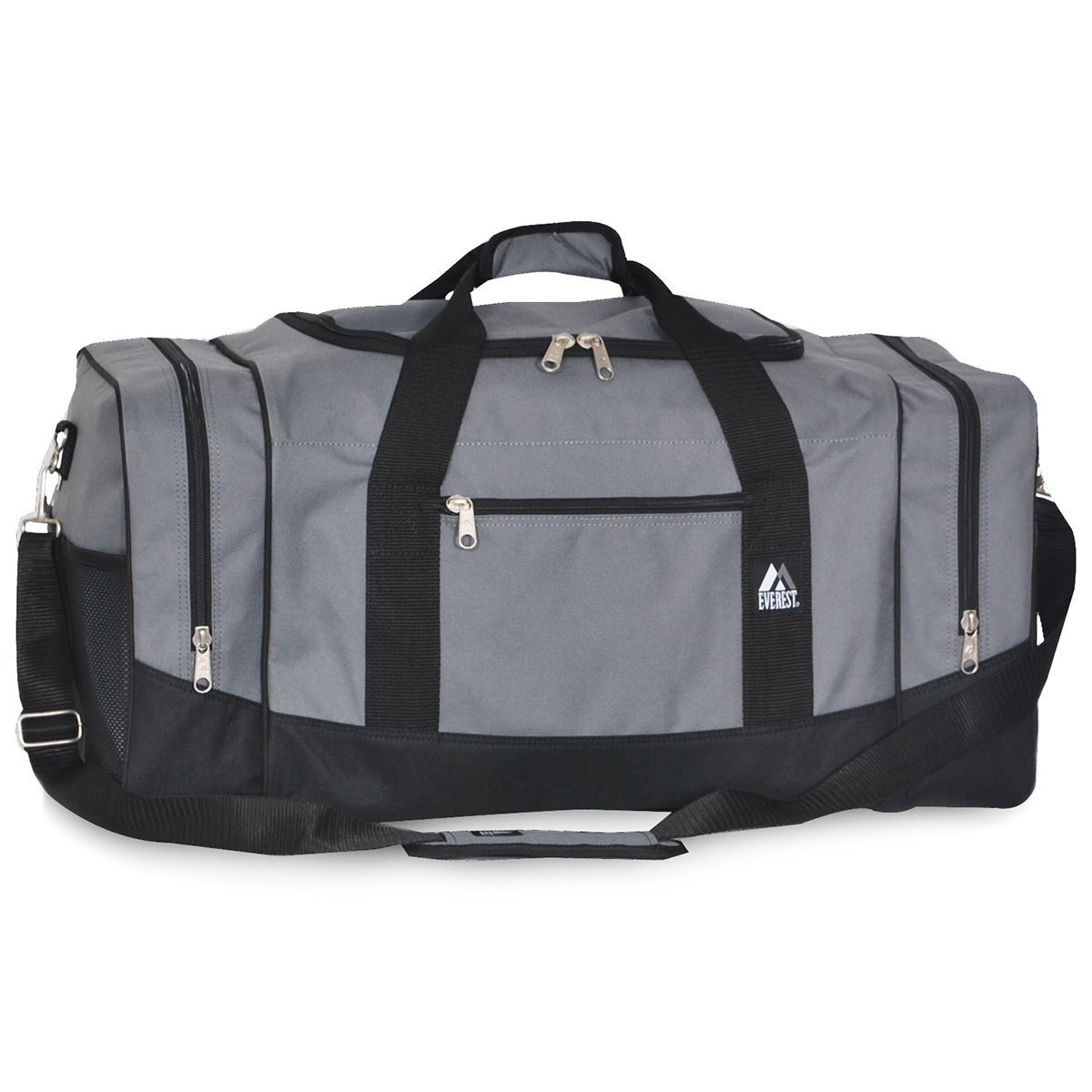 Everest Luggage Sporty Gear Bag - Large (One Size, Dark Gray)