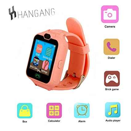 Amazon.com: hangang Gaming Juego Inteligente Reloj Teléfono ...