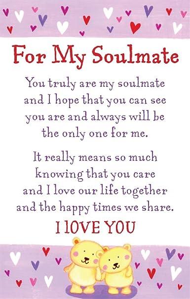 heartwarmers for my soulmate keepsake card envelope 3 5 x 2 code