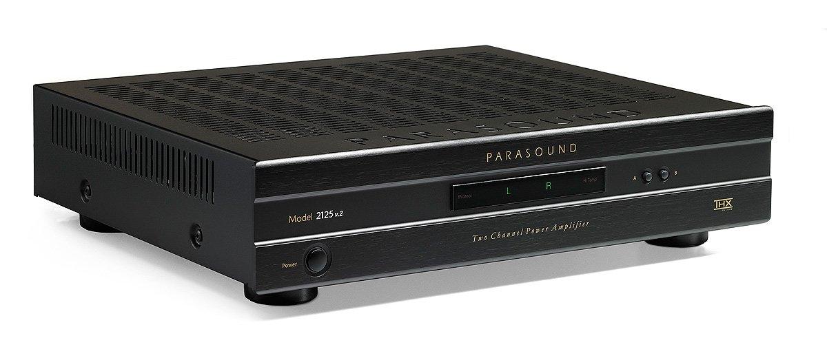 Parasound 2125v2 150 Watt Stereo Power Amplifier by Parasound
