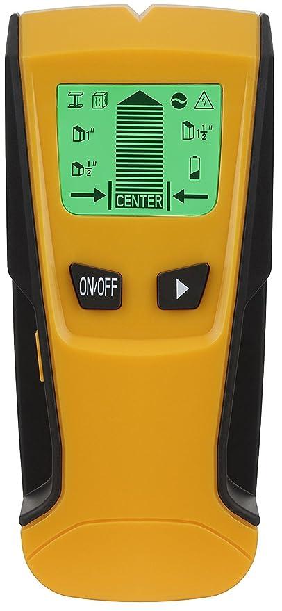 Buscador de pernos de pared – Genround 3 en 1 Detector de Pernos Eléctrico Multi-