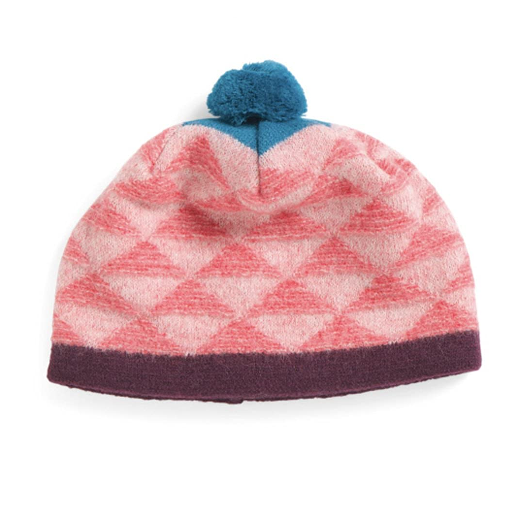 pistil - Women s - Made in Italy - Geo Diamond Boiled Wool Pom Pom Beanie  (Pink) at Amazon Women s Clothing store  75c4957d4f6