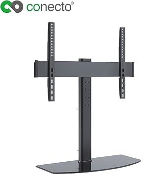conecto Easyhome TV Pantalla Plana para Soporte de pie para televisor LED Plasma Regulable 32 – 55 Pulgadas (81 – 140 cm, hasta 40 kg) VESA 600 x 400, Color Negro: Amazon.es: Electrónica