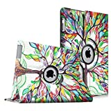 Fintie Apple iPad 2/3/4 Case - 360 Degree Rotating Stand Smart Case Cover for iPad with Retina Display (iPad 4th Generation), the new iPad 3 & iPad 2 (Automatic Wake/Sleep Feature), Love Tree
