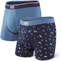Saxx Underwear Men's Vibe 2-Pack Boxer Brief