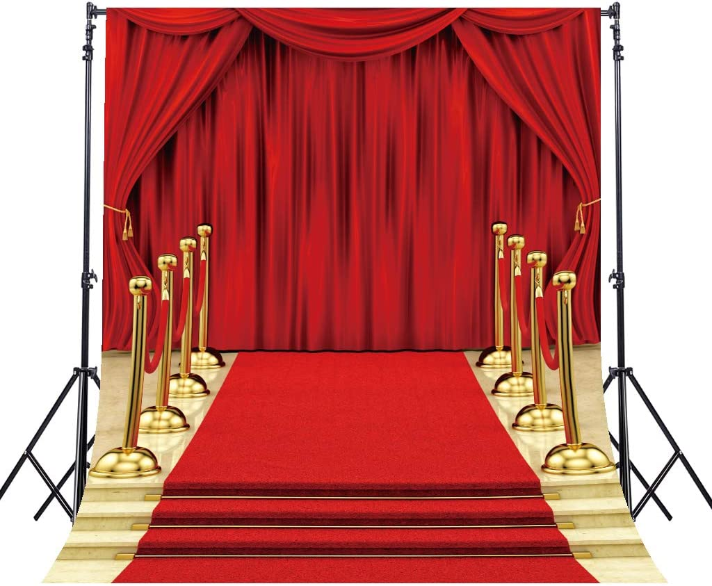 LB 7x5ft Red Carpet Photography Backdrop Event Party Stage Decorations Photo Background Studio Prop Customized SR116