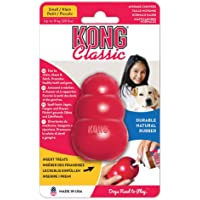 KONG Classic Dog Toy, Durable Natural Rubber- Fun to Chew, Chase & Fetch- For Small Dogs