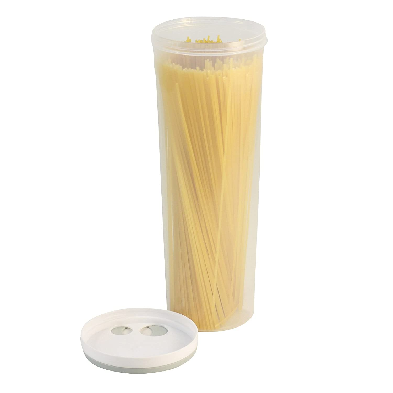 Alivier Contenedor de Alimentos de pl/ástico Fideos de Cocina Caja de Almacenamiento de Pasta para Espaguetis Palillos multifunci/ón Portacontenedores