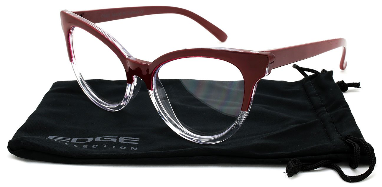 Amazon.com: Edge I-Wear Vintage Cat Eye Readers for Women