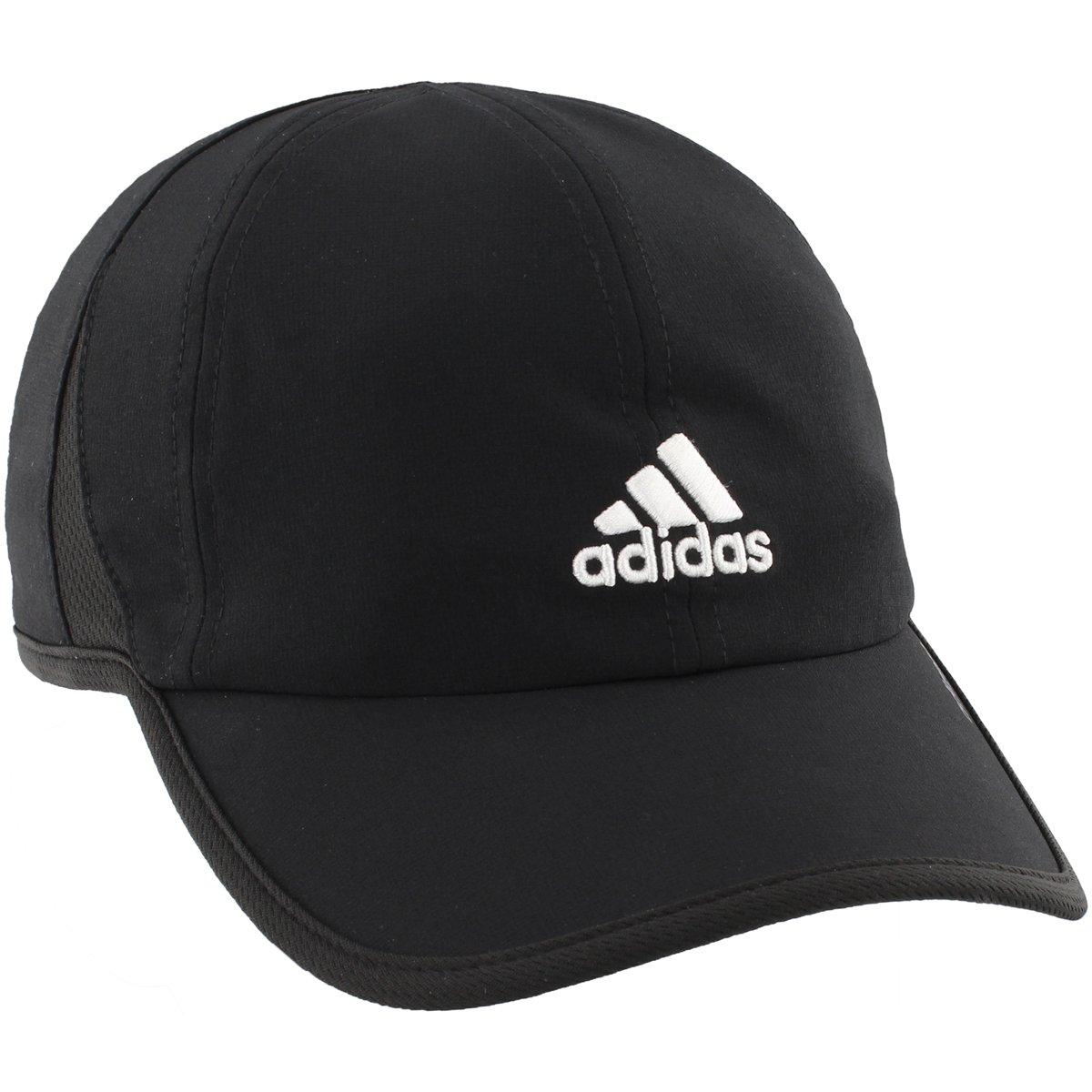 timeless design 0661b 696bf Amazon.com  adidas Men s Adizero II Cap, Black White, One Size  Clothing