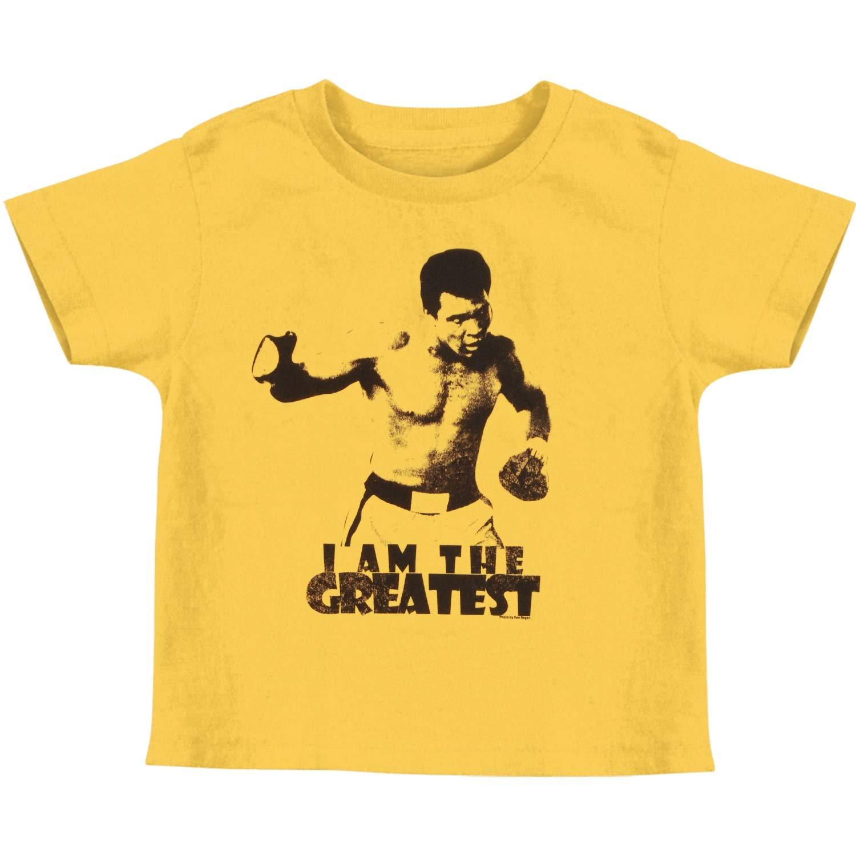 Muhammad Ali I Am The Greatest Yellow T Shirt Tee 2898