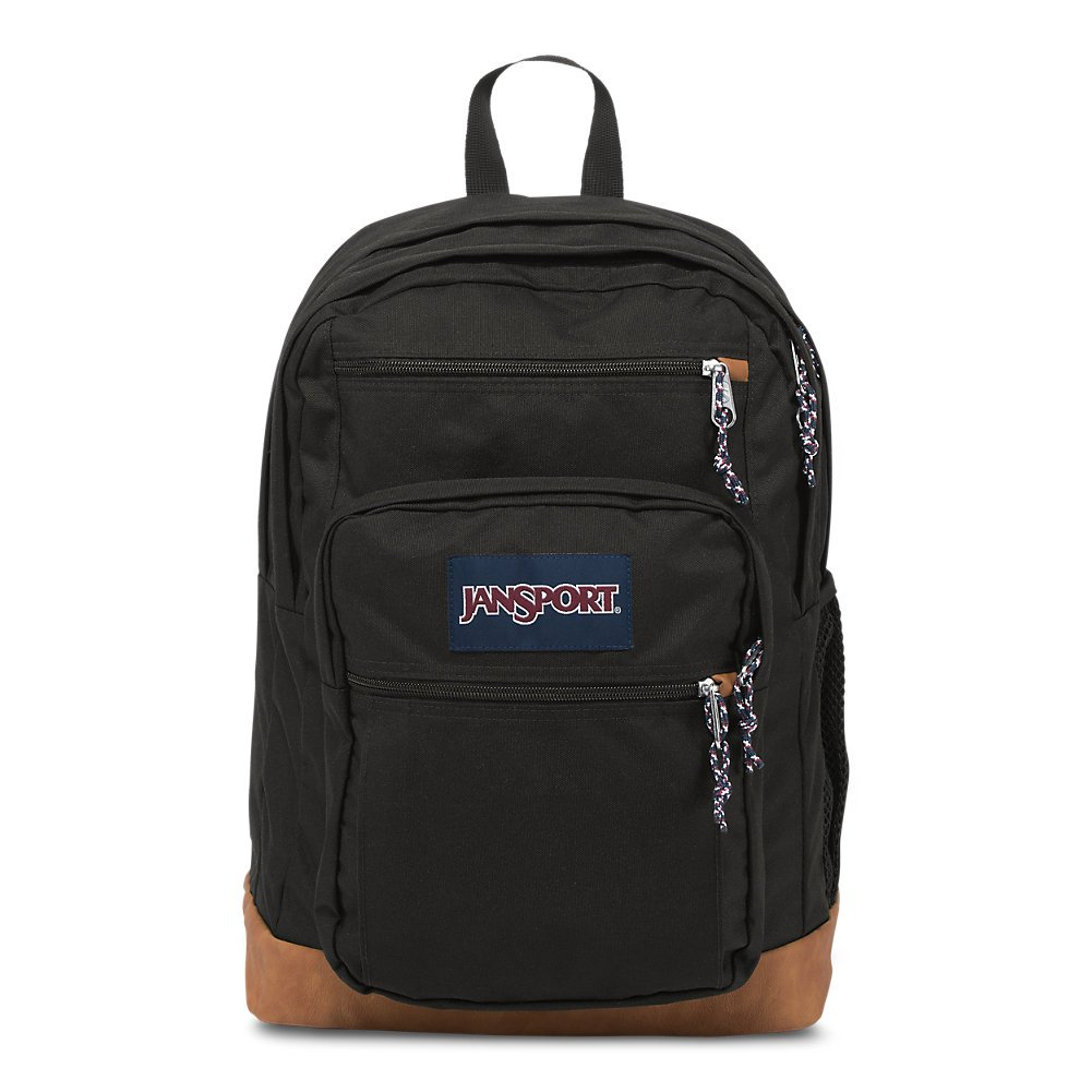 JanSport Mens Classic Mainstream Cool Student Backpack - Black / 17.7H X 12.8W X 5.5D by JanSport (Image #1)