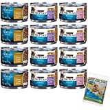 Purina Pro Plan Focus Canned Cat/Kitten Food Variety Pack Box - 3 Flavors, 3-Ounce Cans (12 Total Cans - 4 of Each Flavor) with Bonus Catnip