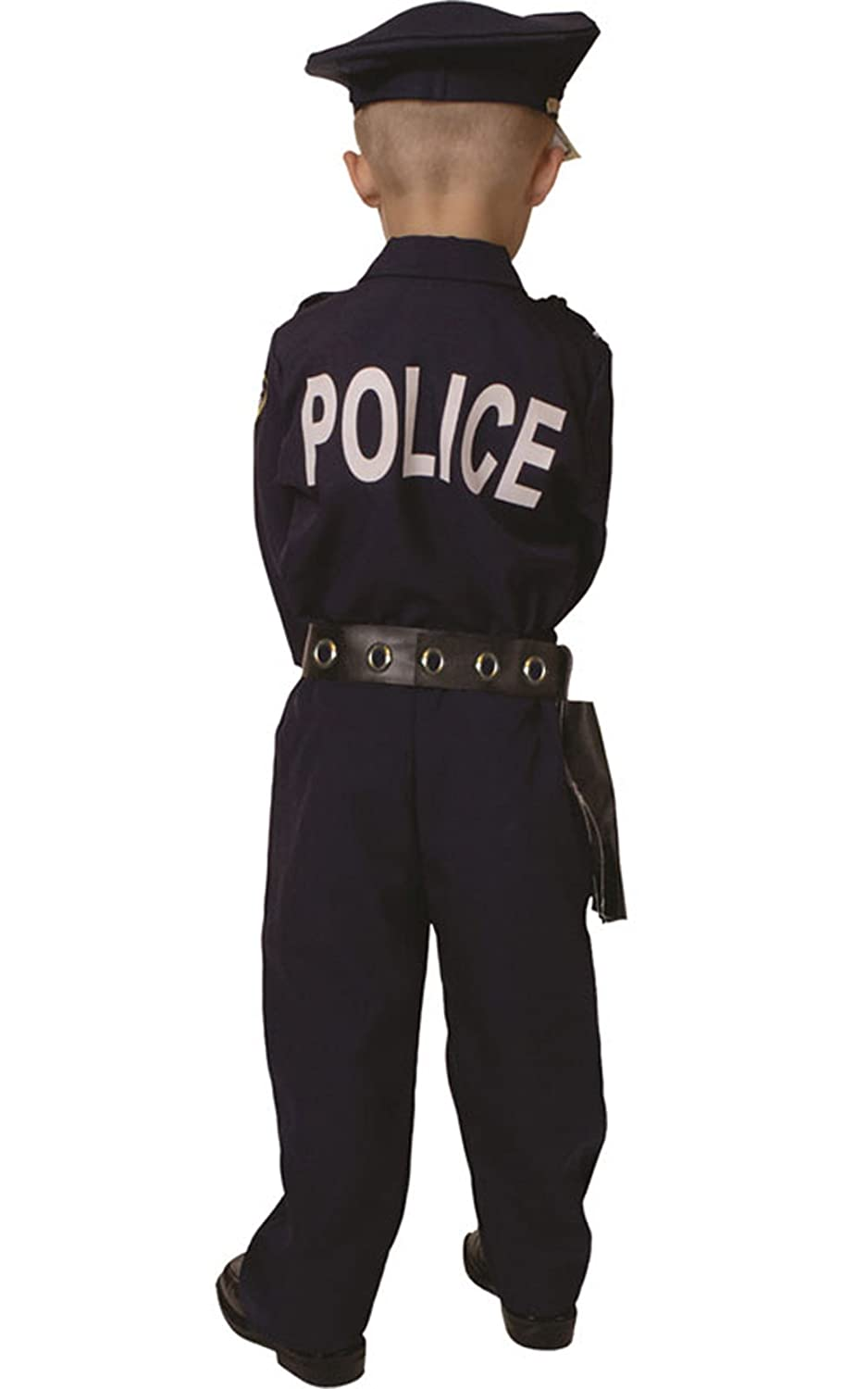 amazon com dress up america deluxe police dress up costume set