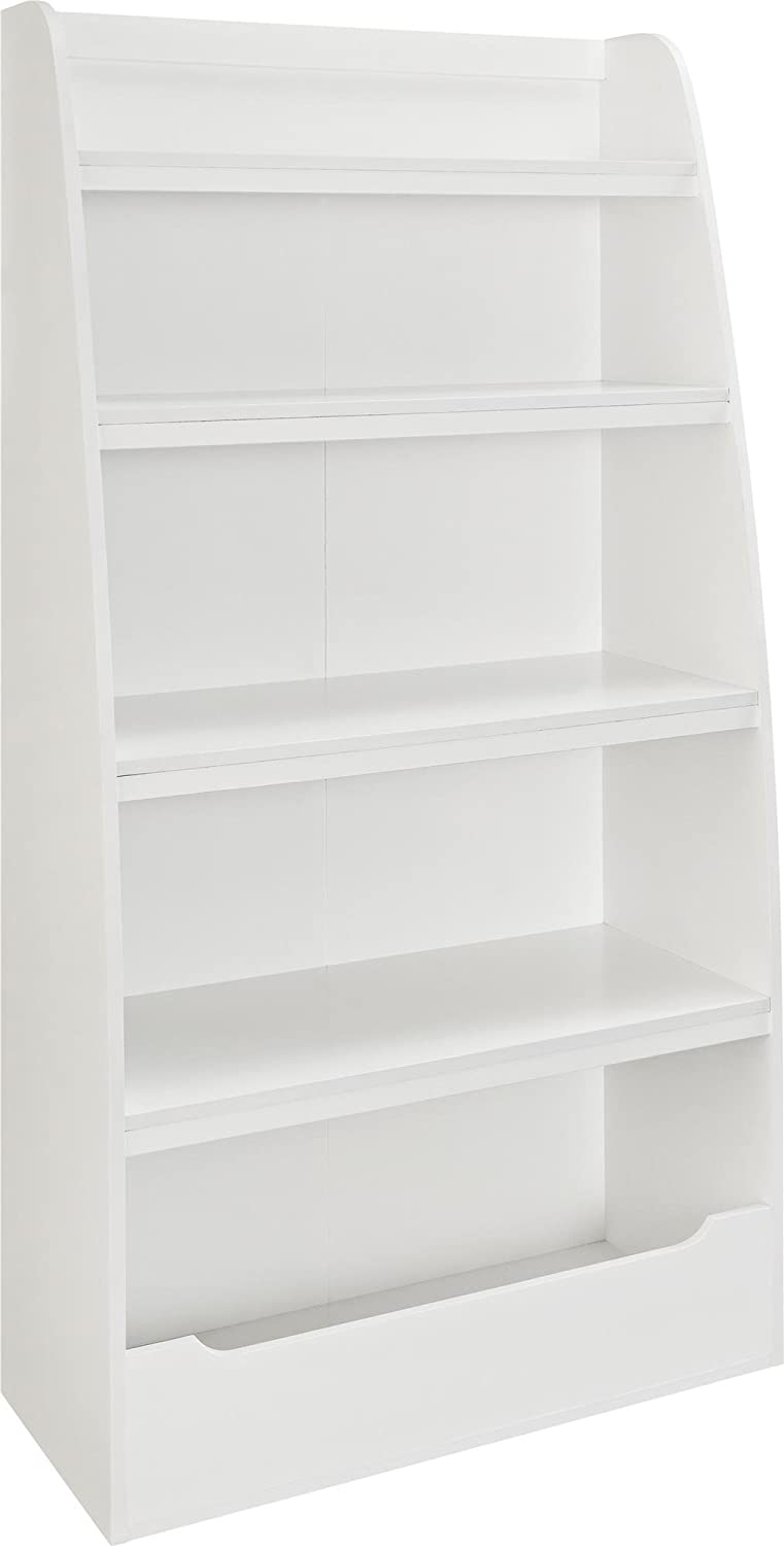 Amazon.com: Ameriwood Home Mia Kids' 4 Shelf Bookcase (White): Kitchen &  Dining - Amazon.com: Ameriwood Home Mia Kids' 4 Shelf Bookcase (White