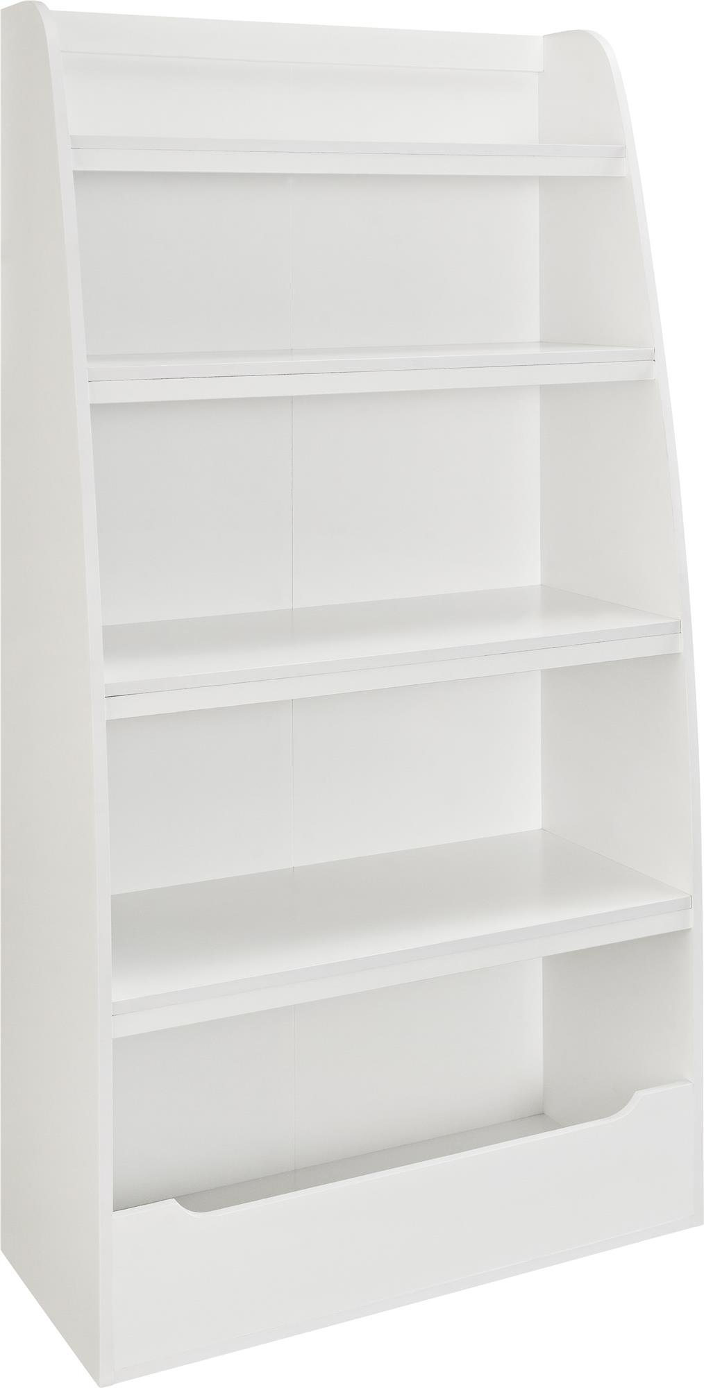 Ameriwood Home Hazel Kids' 4 Shelf Bookcase, White by Ameriwood Home (Image #5)