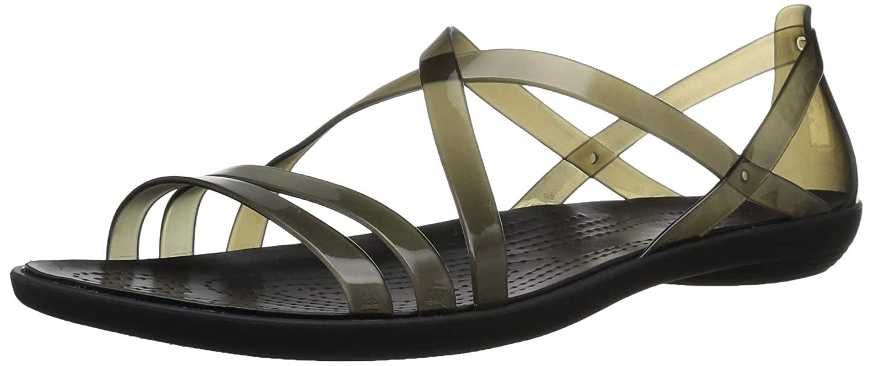 336490b74 Amazon.com | Crocs Women's Isabella Strappy Sandal | Flats
