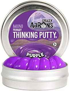 "product image for Crazy Aaron's Thinking Putty 2"" Mini Tin Purple"