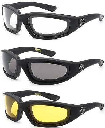 Amazon.com: 3 pares de gafas de chupete con marco acolchado ...