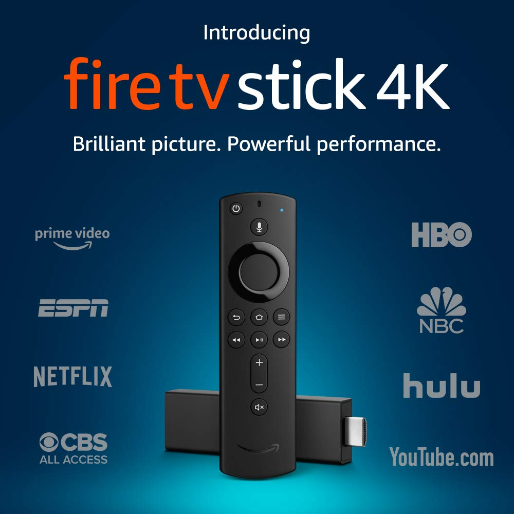$34.99 Fire TV Stick 4K with A...