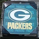NFL Green Bay Packers Neoprene Coaster, 4-Pack
