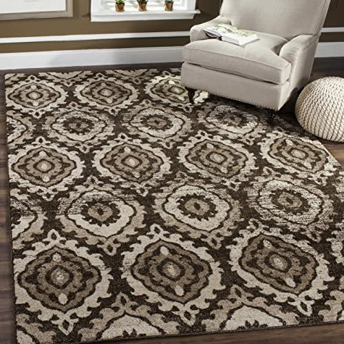 Safavieh Tunisia Collection TUN292B Moroccan Tribal Non-Shedding Stain Resistant Living Room Bedroom Area Rug