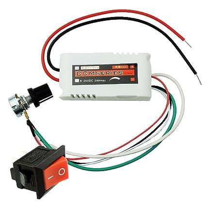 Uniquegoods Ccmfc 12v 2a Dc Motor Speed Controller Adjustable