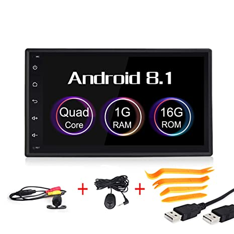 Amazon.com: Android 8.1 coche multimedia GPS navegación 7 ...