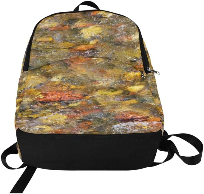 Limiejo Hiking Storage Bags Mysterious Art Neon Magic Crystal Durable Water Resistant Classic Easy Travel Bag Tech Bookbags for Men Kid Sports Bag Bookbags Girls