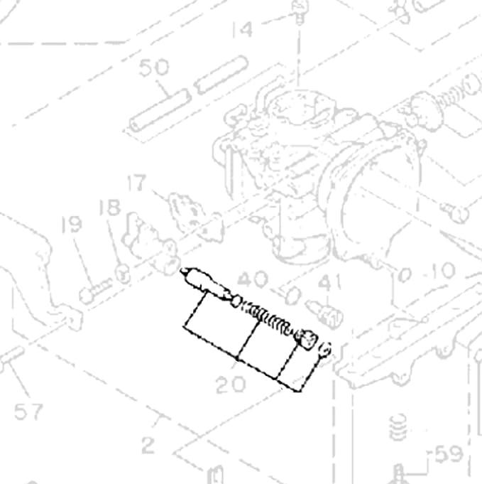 Yamaha Vmax Carburetor Diagram