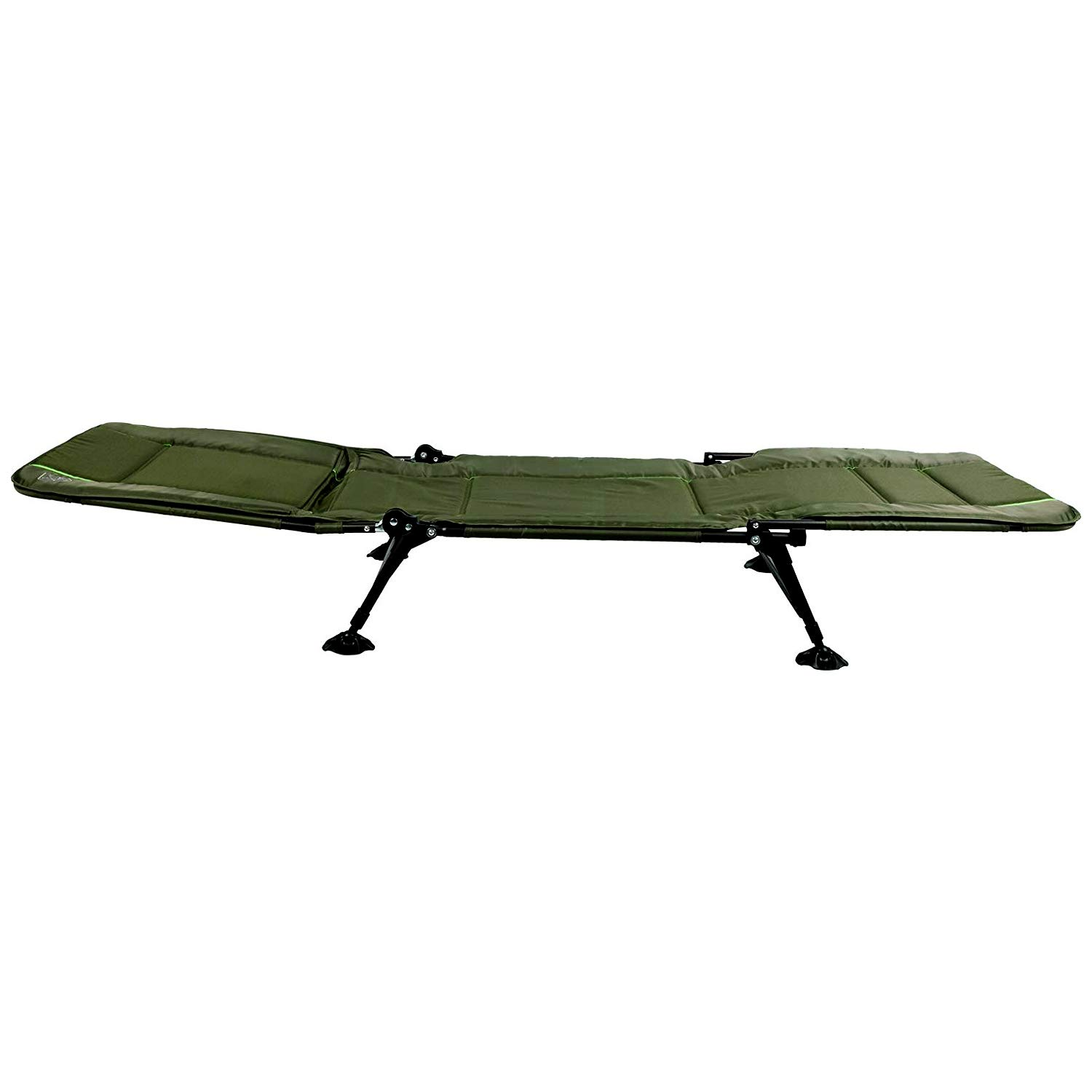 Timber Ridge Juniper Heavy Duty Quickset Adjustable Folding Camp Cot, Green