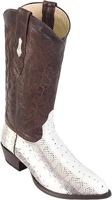 Men/'s Los Altos Genuine Ring Lizard J Toe Cowboy Western Boots Handmade Wide