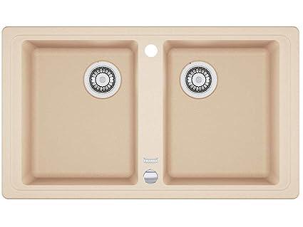 Franke Basis BFG 620 beige FRAGRANITE cucina lavandino doppio bacino ...