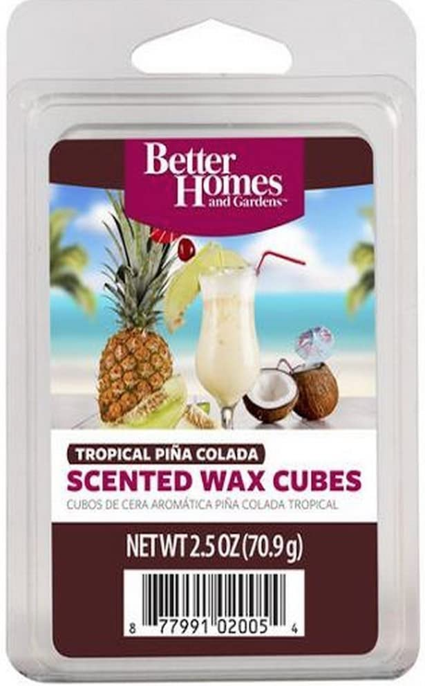 Better Homes and Gardens Tropical Pina Colada Wax Cubes (2 Pack)