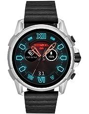 Diesel Smartwatch Uomo con Cinturino in Pelle DZT2008