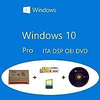 Windows 10 Pro OEM FQC-08913 Italian DSP OEI OEM DVD + COA olografico pack