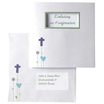 MyPaperSet Einladungskarten-Set \'Gottes Wiese\' - 15 bedruckbare ...