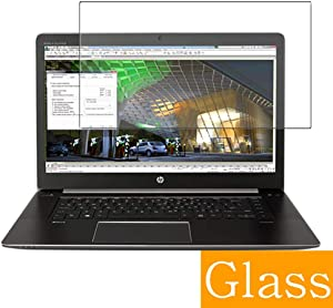 """Synvy Tempered Glass Screen Protector for HP ZBook Studio G3 15.6"""" Visible Area Protective Screen Film Protectors 9H Anti-Scratch Bubble Free"""