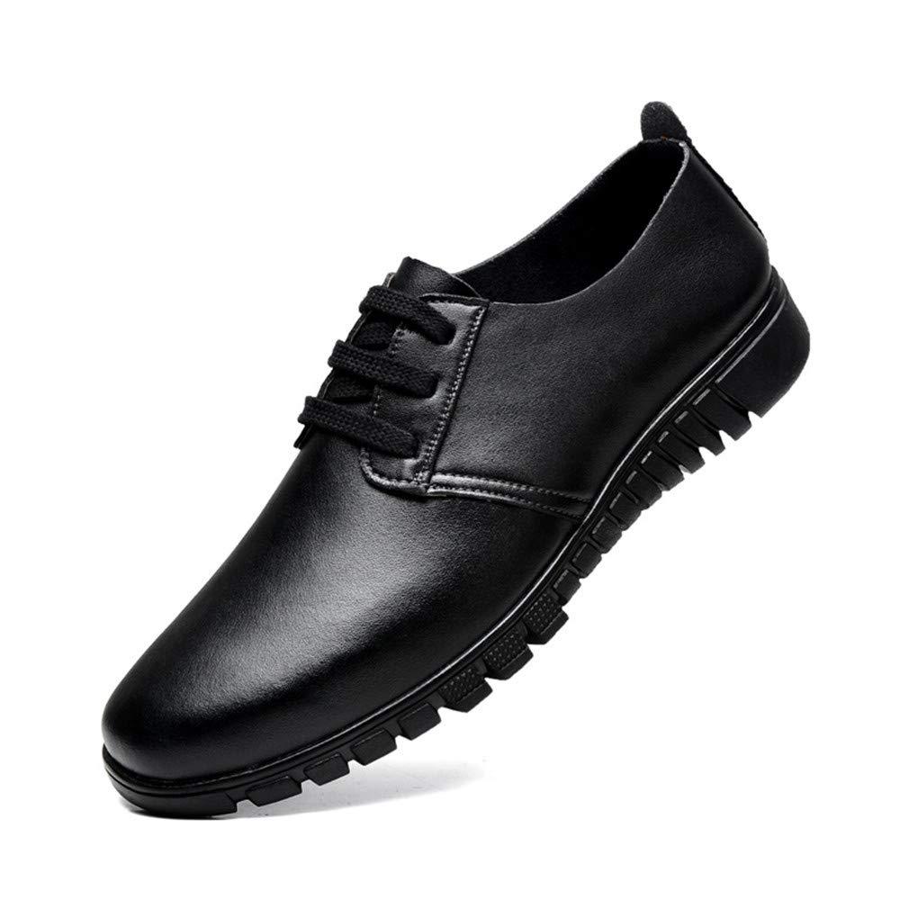 Jiuyue schuhe, Sommer 2018 Herren Business Oxford und Schuhe, Casual Leder Frühling und Oxford Herbst Hohl Stil Formale Schuhe (Farbe : Braun, Größe : 47 EU) Schwarz 3e87a2