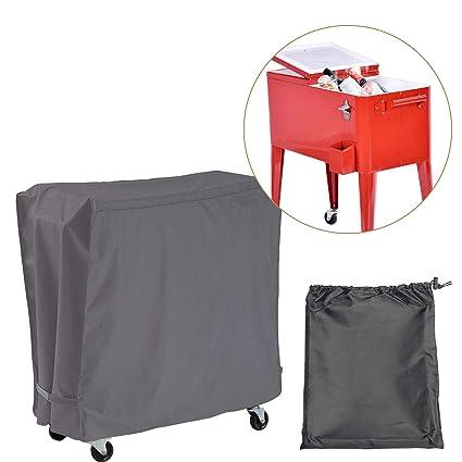 Amazon.com: Covolo Cubierta para el carrito de refrigeración ...