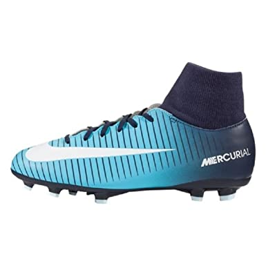 Nike Jr Mercurial Victory VI DF FG Kid's Soccer Dynamic Fit Firm Ground  Cleats (2
