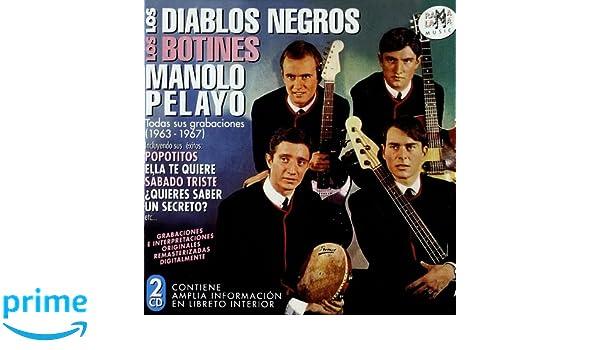 Todas Sus Grabaciones : Los Diablos Negros-Los Botines M.Pelayo: Amazon.es: Música