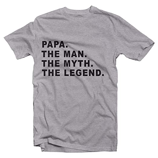 5d444bed Amazon.com: Todays Sale on Papa The Man The Myth The Legend T Shirt is A  Great Gift for Birthdays and Fathers Day: Clothing