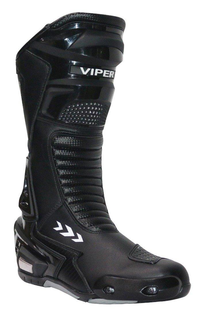 Viper 966S Bottes de Moto pour Homme Noir