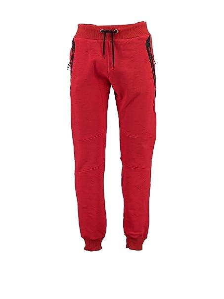 Canadian Peak Pantalón de Chándal Mactory Rojo 2XL: Amazon.es ...