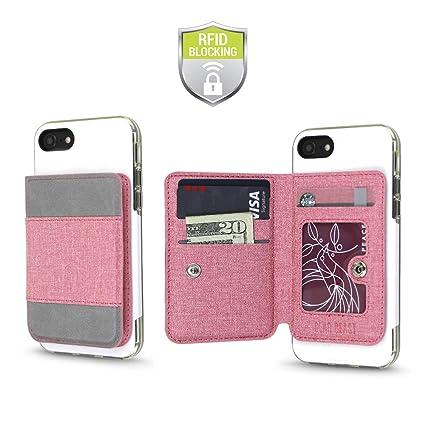 Amazon.com: Funda para teléfono móvil universal con adhesivo ...