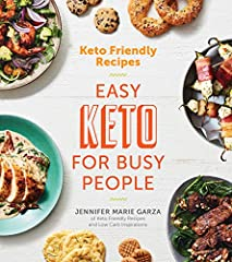 The first cookbook from top keto expert, Jennifer Marie Garza of Keto Friendly Recipes and Low Carb Inspirations on Facebook Jennifer Marie Garza spent years struggling with her weight and trying every diet out there without s...