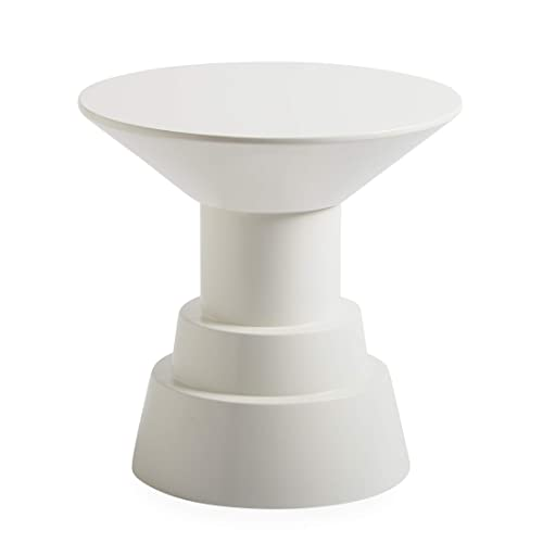 Now House by Jonathan Adler Otto Pedestal Accent Table, White