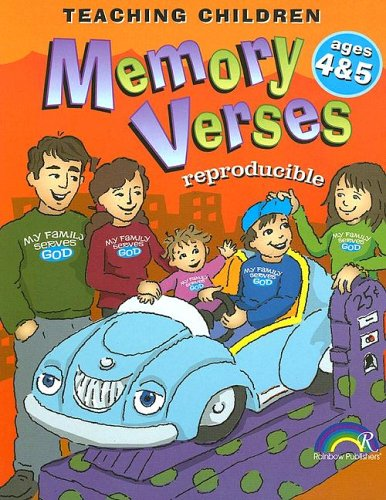 Teaching Children Memory Verses -- Ages 4-5 ()